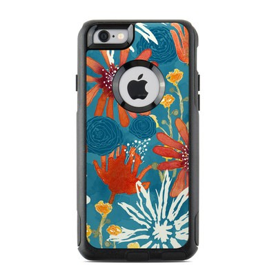 OtterBox Commuter iPhone 6 Case Skin - Sunbaked Blooms