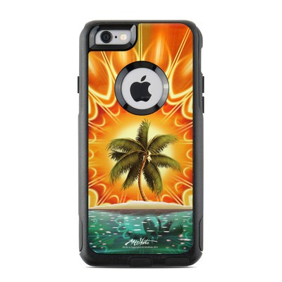 OtterBox Commuter iPhone 6 Case Skin - Sundala Tropic