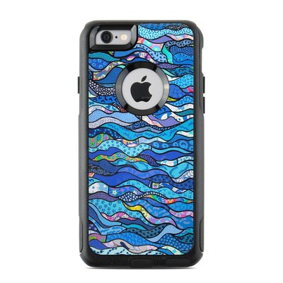 OtterBox Commuter iPhone 6 Case Skin - The Blues