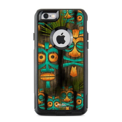 OtterBox Commuter iPhone 6 Case Skin - Tiki Abu
