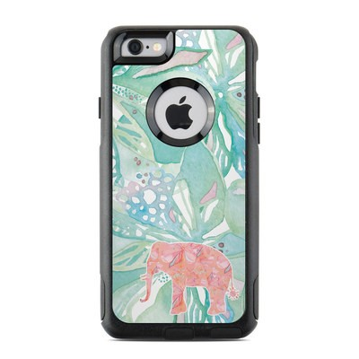 OtterBox Commuter iPhone 6 Case Skin - Tropical Elephant