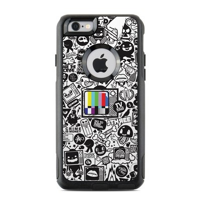 OtterBox Commuter iPhone 6 Case Skin - TV Kills Everything