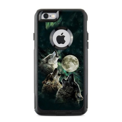 OtterBox Commuter iPhone 6 Case Skin - Three Wolf Moon