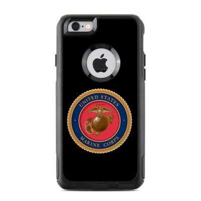 OtterBox Commuter iPhone 6 Case Skin - USMC Black