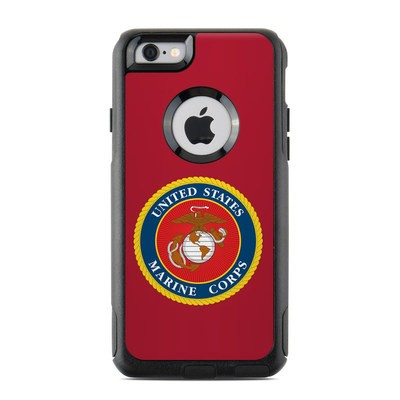 OtterBox Commuter iPhone 6 Case Skin - USMC Red