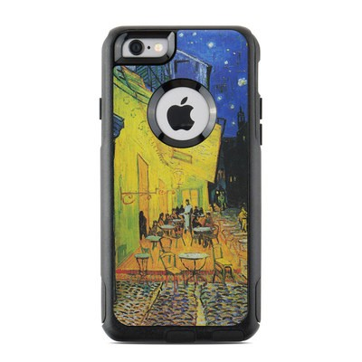 OtterBox Commuter iPhone 6 Case Skin - Cafe Terrace At Night