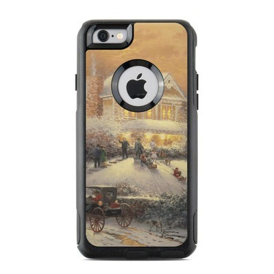 OtterBox Commuter iPhone 6 Case Skin - Victorian Christmas