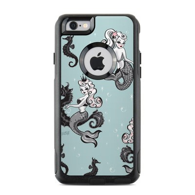 OtterBox Commuter iPhone 6 Case Skin - Vintage Mermaid