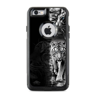 OtterBox Commuter iPhone 6 Case Skin - White Tiger