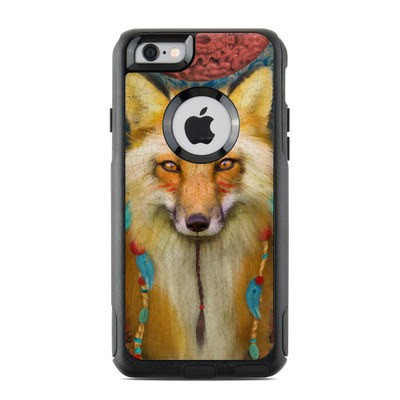 OtterBox Commuter iPhone 6 Case Skin - Wise Fox