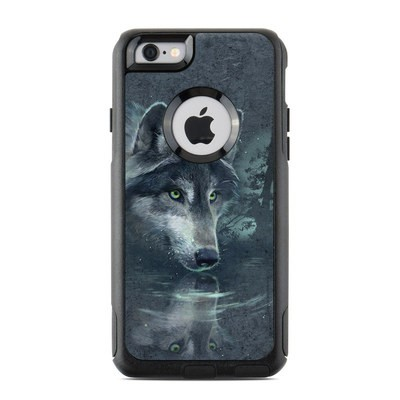 OtterBox Commuter iPhone 6 Case Skin - Wolf Reflection