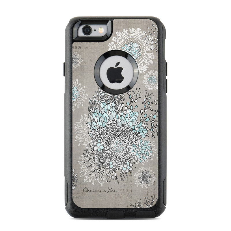 otterbox commuter iphone 6 case skin christmas in paris
