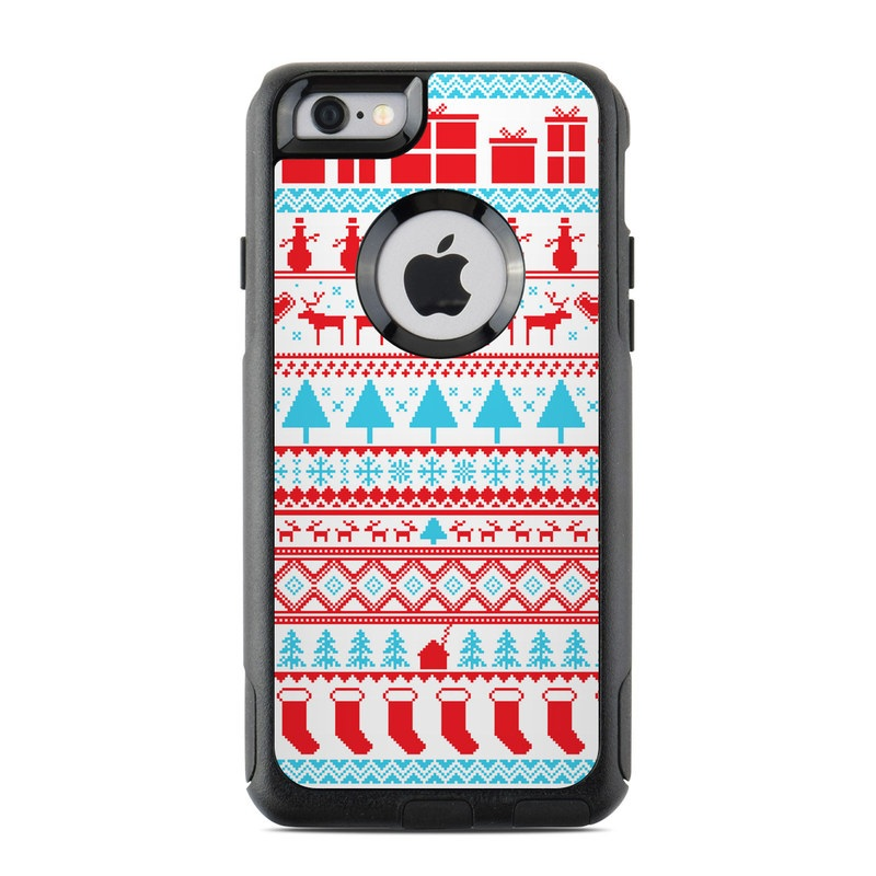otterbox commuter iphone 6 case skin comfy christmas