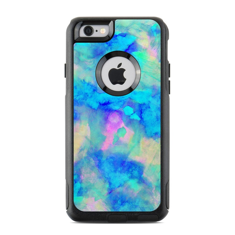 separation shoes 8ac81 555c9 OtterBox Commuter iPhone 6 Case Skin - Electrify Ice Blue