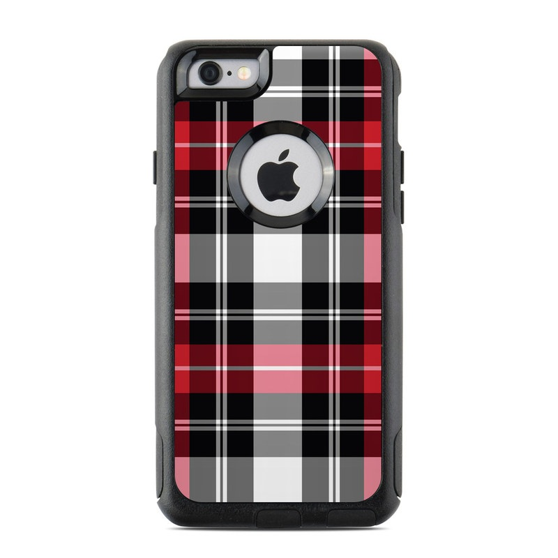 a2b7771439 OtterBox Commuter iPhone 6 Case Skin - Red Plaid | DecalGirl