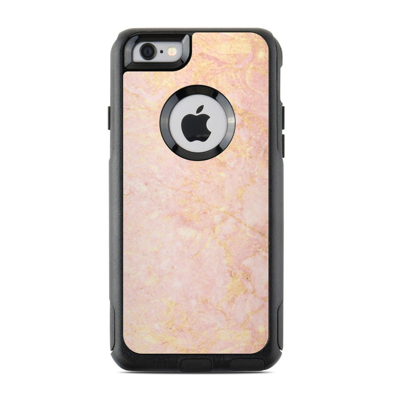 iphone 6 colors rose gold. otterbox commuter iphone 6 case skin - rose gold marble iphone colors a