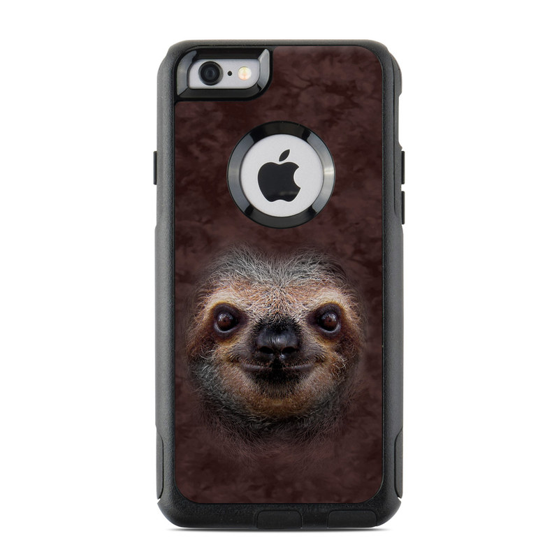 official photos d46a7 8f231 OtterBox Commuter iPhone 6 Case Skin - Sloth
