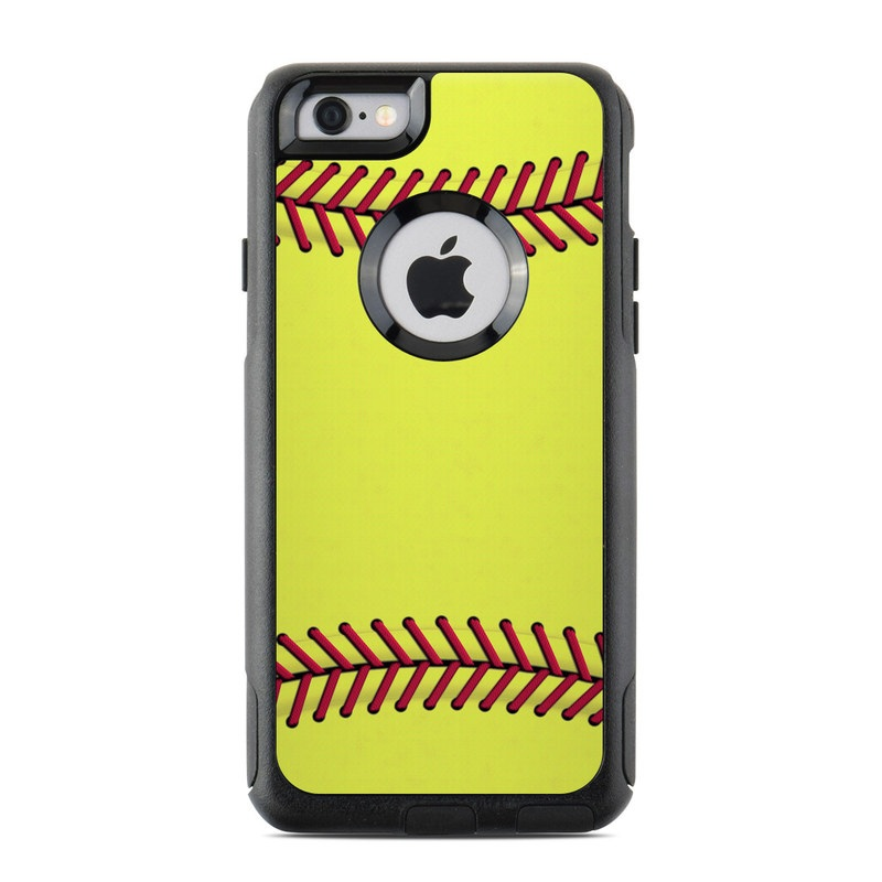 Otterbox Commuter Iphone 6 Case Skin Softball By Sports