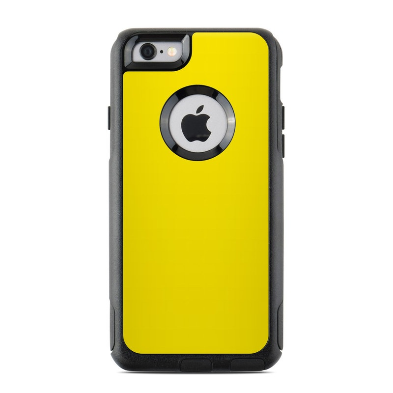 more photos 1a3d8 c5363 OtterBox Commuter iPhone 6 Case Skin - Solid State Yellow