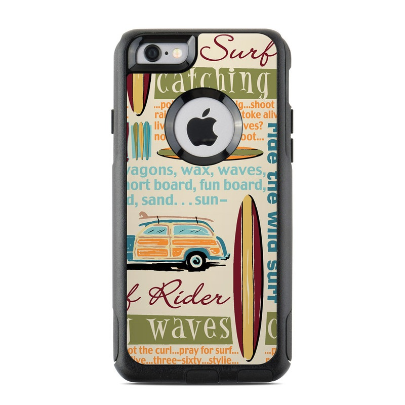 timeless design ca276 4221f OtterBox Commuter iPhone 6 Case Skin - Surf Words