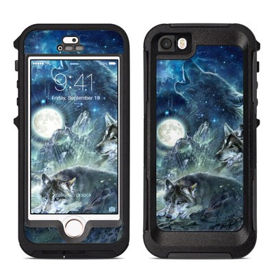 OtterBox Preserver iPhone 5 Case Skin - Bark At The Moon