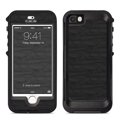 OtterBox Preserver iPhone 5 Case Skin - Black Woodgrain