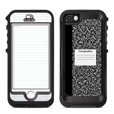 OtterBox Preserver iPhone 5 Case Skin - Composition Notebook