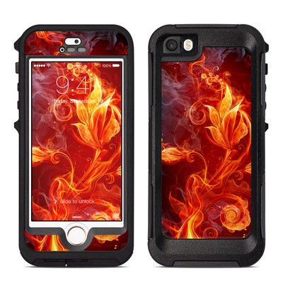 OtterBox Preserver iPhone 5 Case Skin - Flower Of Fire