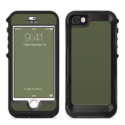OtterBox Preserver iPhone 5 Case Skin - Solid State Olive Drab