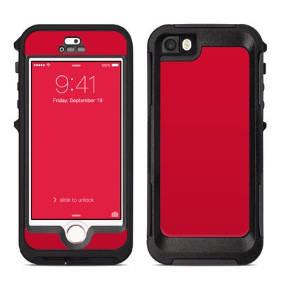 OtterBox Preserver iPhone 5 Case Skin - Solid State Red