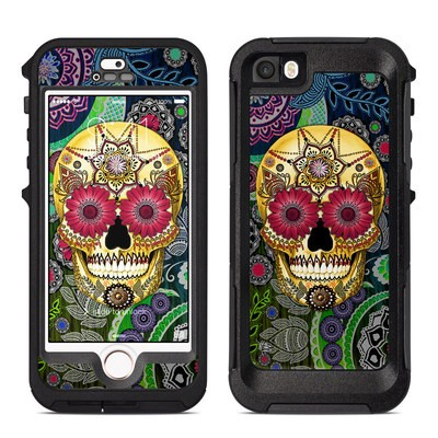 OtterBox Preserver iPhone 5 Case Skin - Sugar Skull Paisley