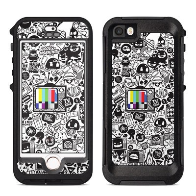 OtterBox Preserver iPhone 5 Case Skin - TV Kills Everything