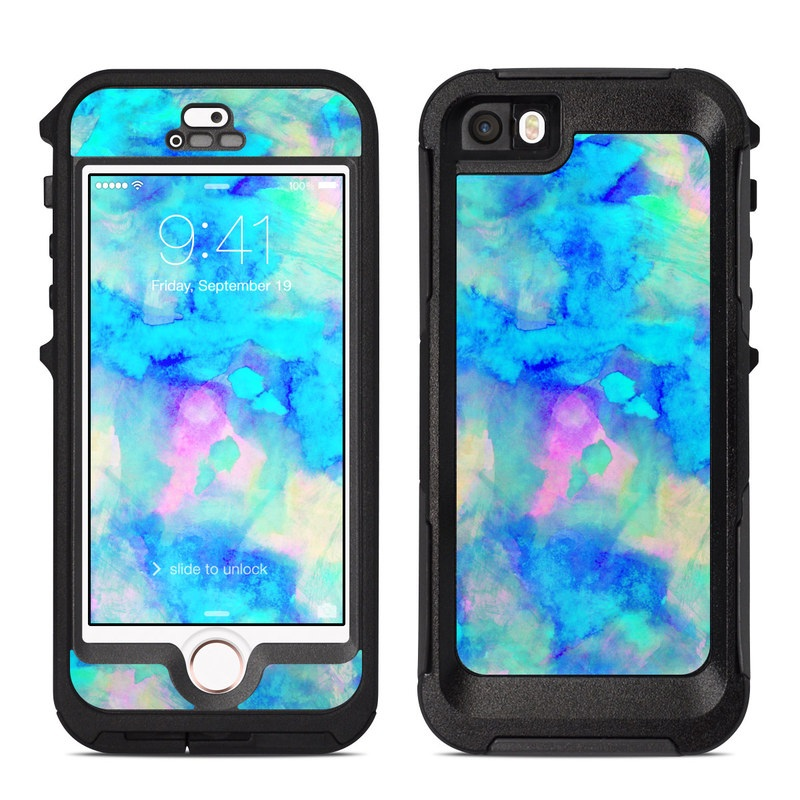 newest a6ae6 6b47d OtterBox Preserver iPhone 5 Case Skin - Electrify Ice Blue