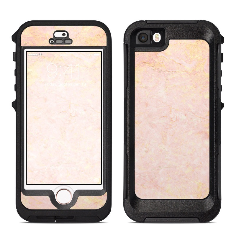 iphone 5s rose gold. otterbox preserver iphone 5 case skin - rose gold marble iphone 5s