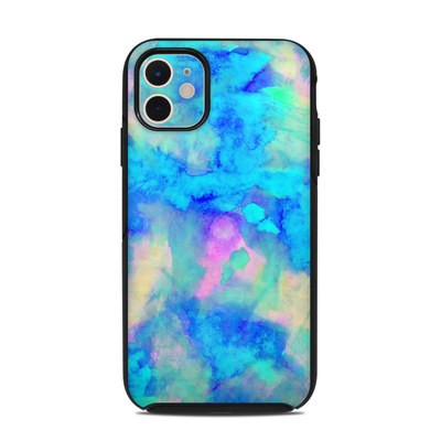 OtterBox Symmetry iPhone 11 Case Skin - Electrify Ice Blue