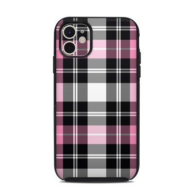 OtterBox Symmetry iPhone 11 Case Skin - Pink Plaid
