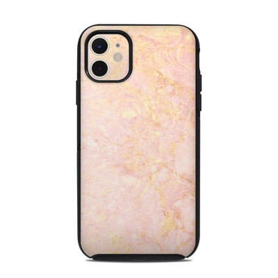 OtterBox Symmetry iPhone 11 Case Skin - Rose Gold Marble