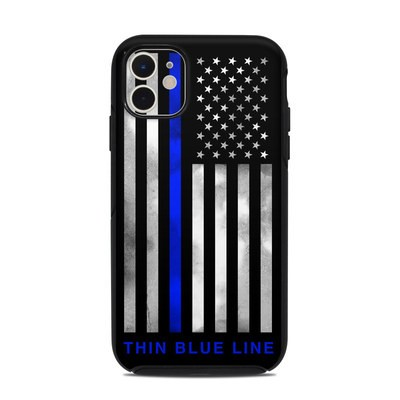 OtterBox Symmetry iPhone 11 Case Skin - Thin Blue Line