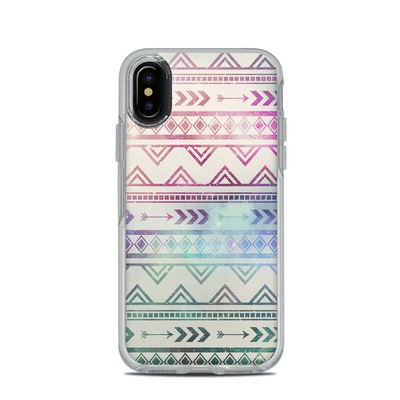 OtterBox Symmetry Clear iPhone X Case Skin - Bohemian