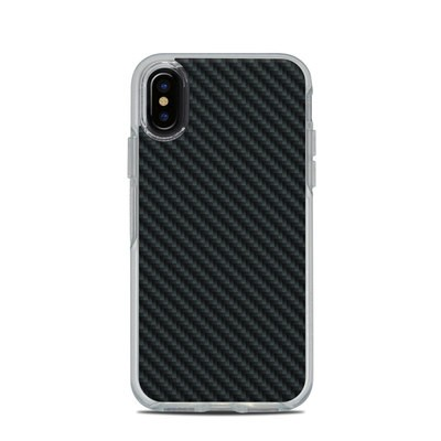 OtterBox Symmetry Clear iPhone X Case Skin - Carbon