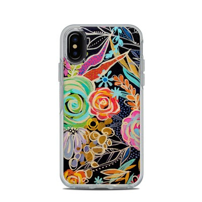 OtterBox Symmetry Clear iPhone X Case Skin - My Happy Place