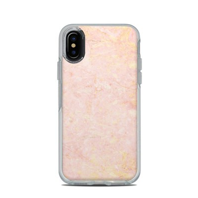 OtterBox Symmetry Clear iPhone X Case Skin - Rose Gold Marble