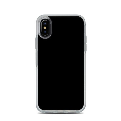 OtterBox Symmetry Clear iPhone X Case Skin - Solid State Black