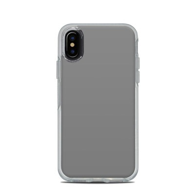 OtterBox Symmetry Clear iPhone X Case Skin - Solid State Grey