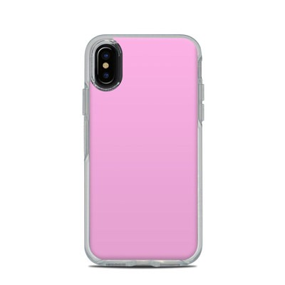 OtterBox Symmetry Clear iPhone X Case Skin - Solid State Pink