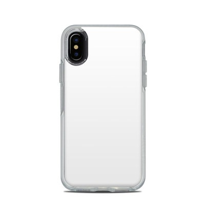 OtterBox Symmetry Clear iPhone X Case Skin - Solid State White