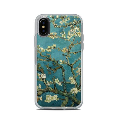 OtterBox Symmetry Clear iPhone X Case Skin - Blossoming Almond Tree