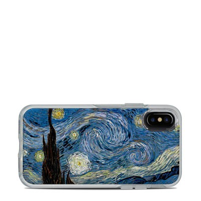 OtterBox Symmetry Clear iPhone X Case Skin - Starry Night