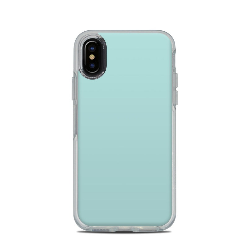 low priced c0186 acf37 OtterBox Symmetry Clear iPhone X Case Skin - Solid State Mint