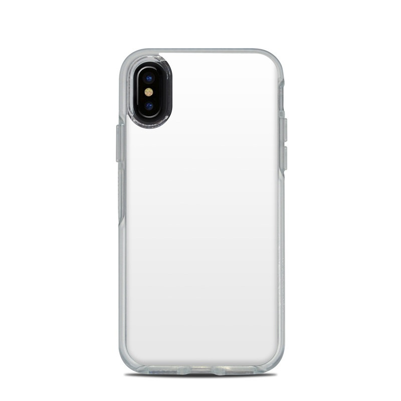 new product 25661 15616 OtterBox Symmetry Clear iPhone X Case Skin - Solid State White